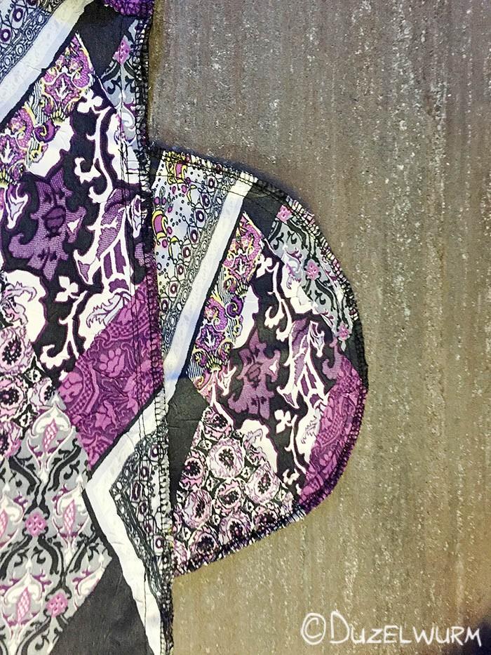 Taschenbeutel versäubert