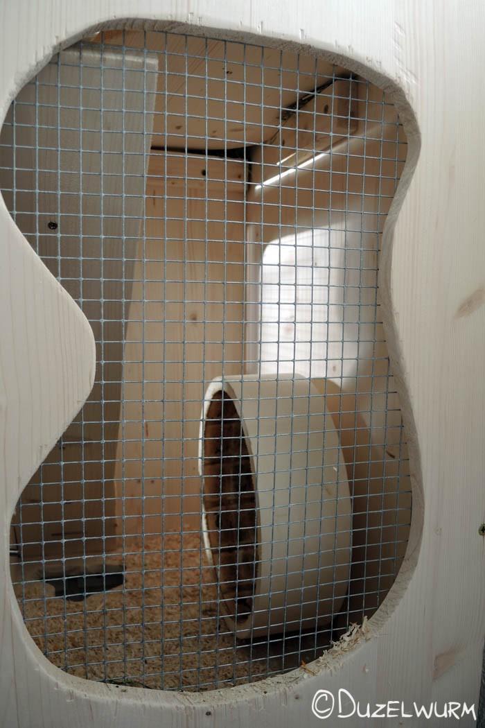 Fenster im Fitnesszimmer