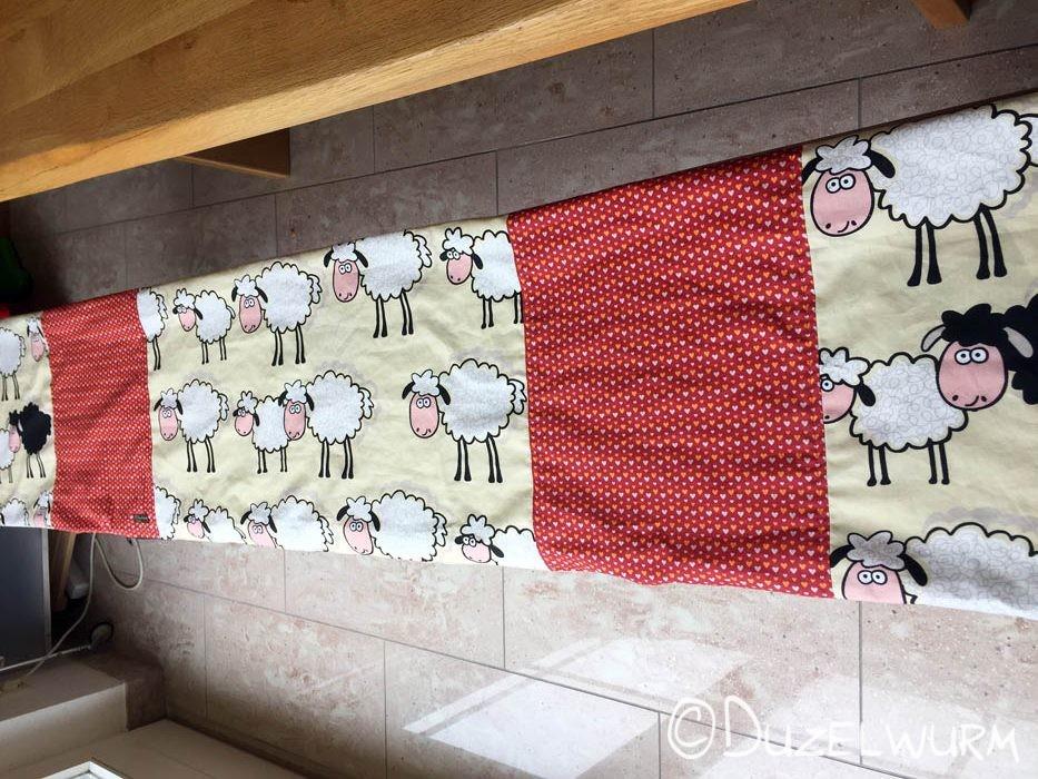 Schafüberzug fertig