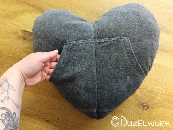 Rückseite Herzkissen