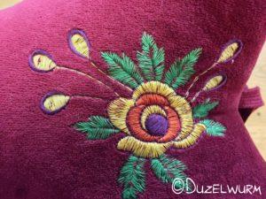 Blume Stickbild 1