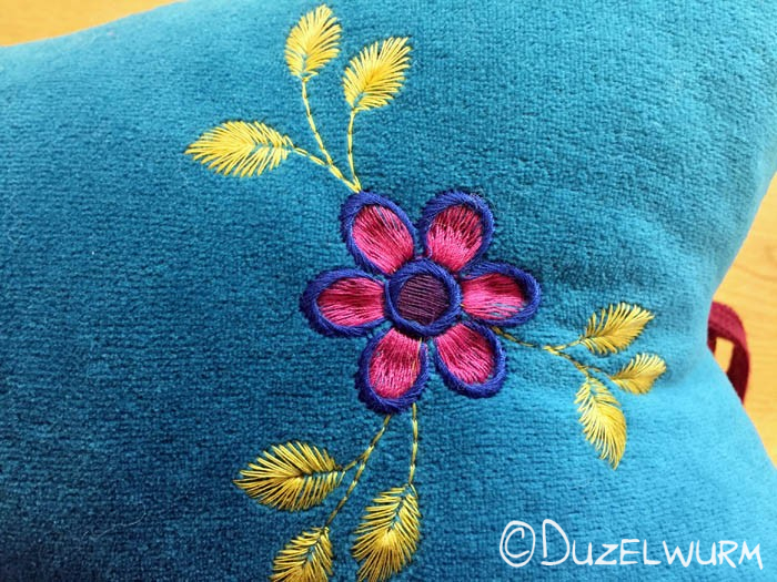 Blume Stickbild 2