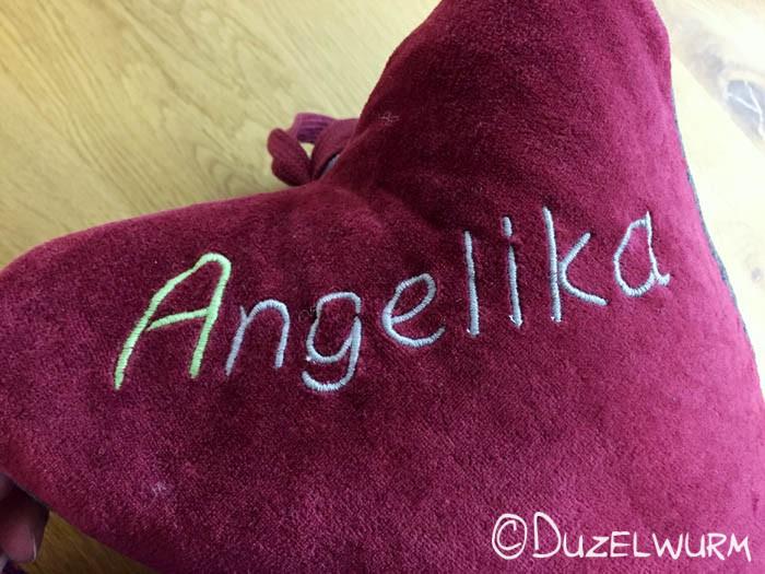 Angelika Schriftzug