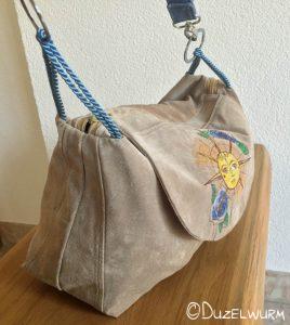 fertige Tasche seitlich