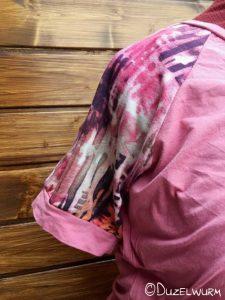 Rosa Shirt Ärmel