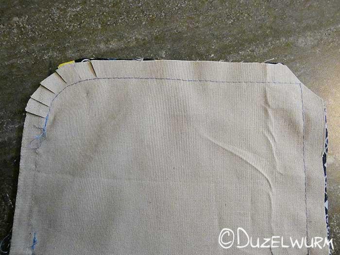Nahtzugabe Taschen