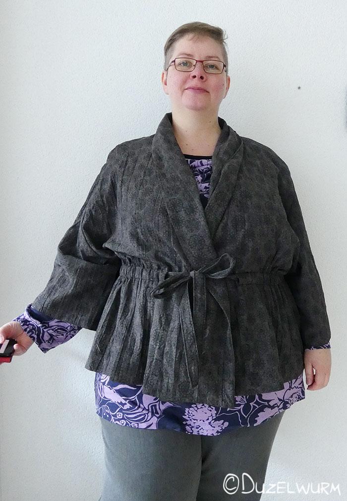 Kimono Tragebild vorne