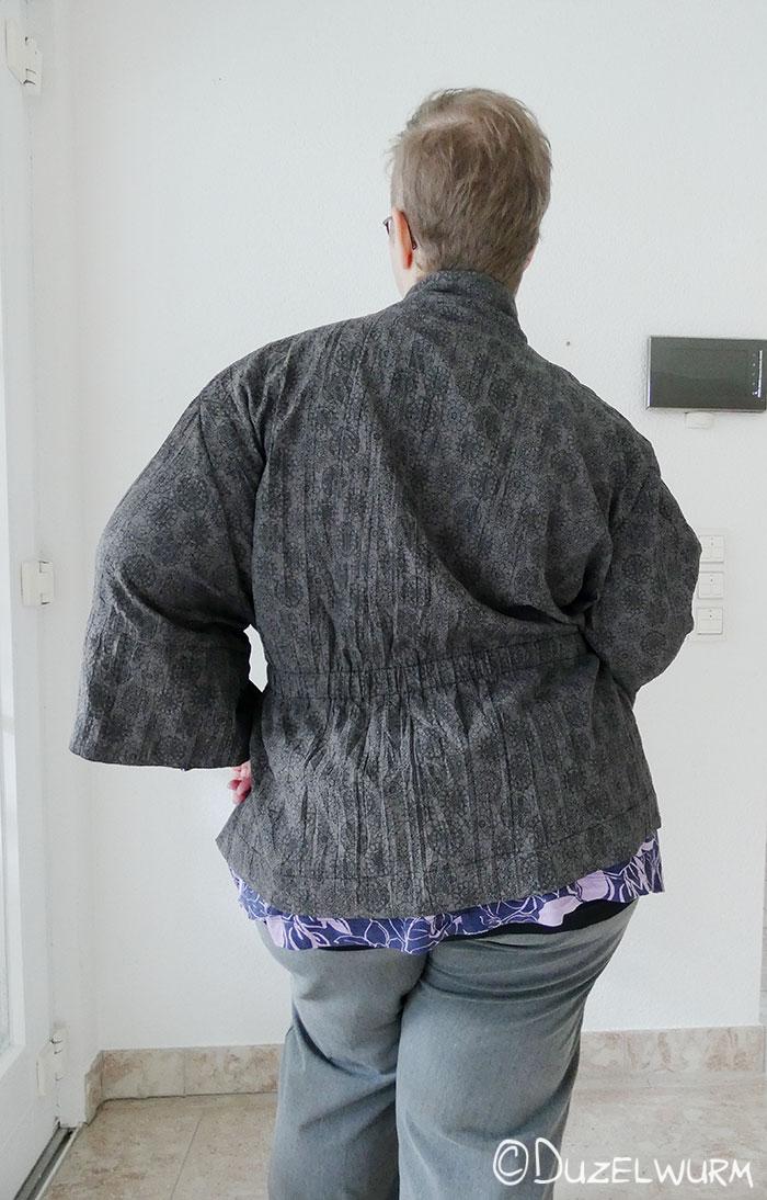 Kimono Tragebild Rückseite