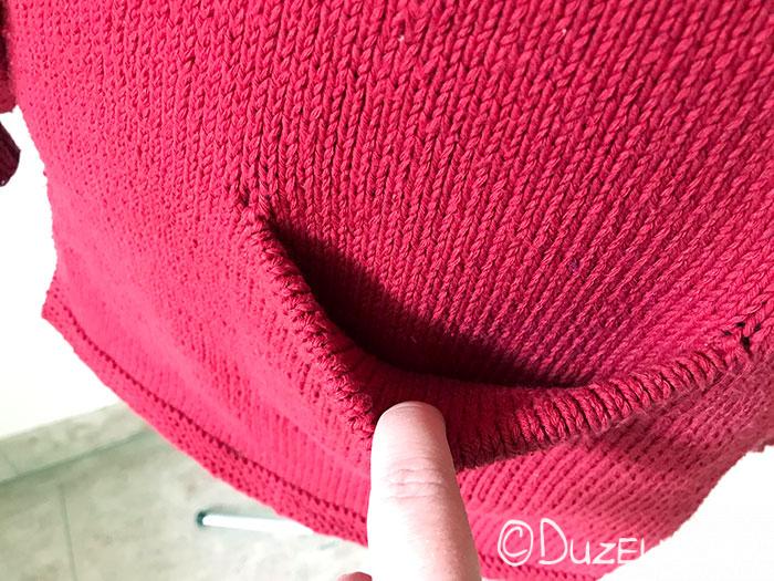 Tascheneingriff